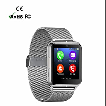 Smartwatch Bluetooth Reloj Inteligente Reloj Deportivo con Deporte,Monitor de Ritmo Cardíaco,Sueño,