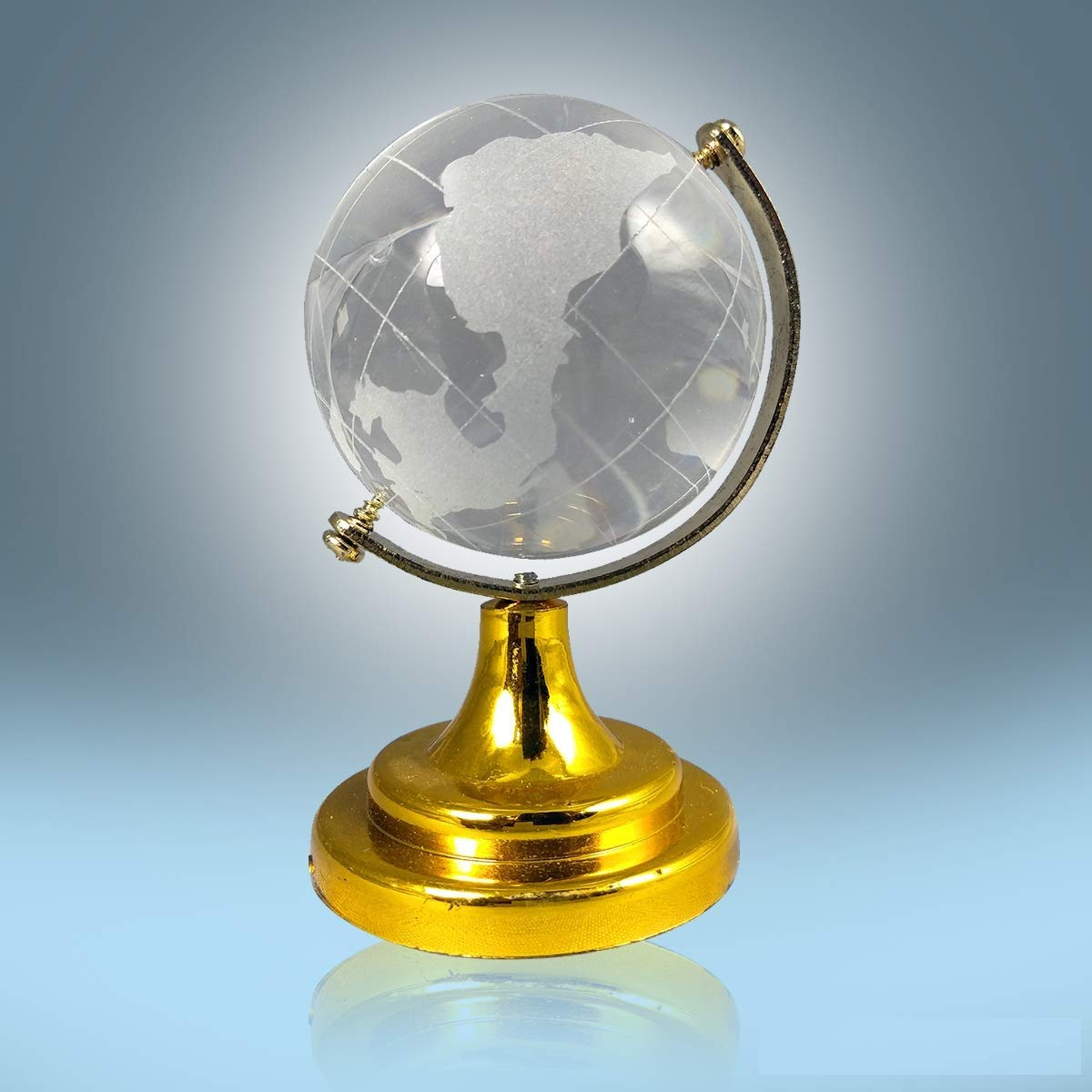 Buy Ankita Gemstones Vastu/Feng Shui Crystal Globe for Success Good Luck  and Prosperity Online at Low Prices in India - Amazon.in