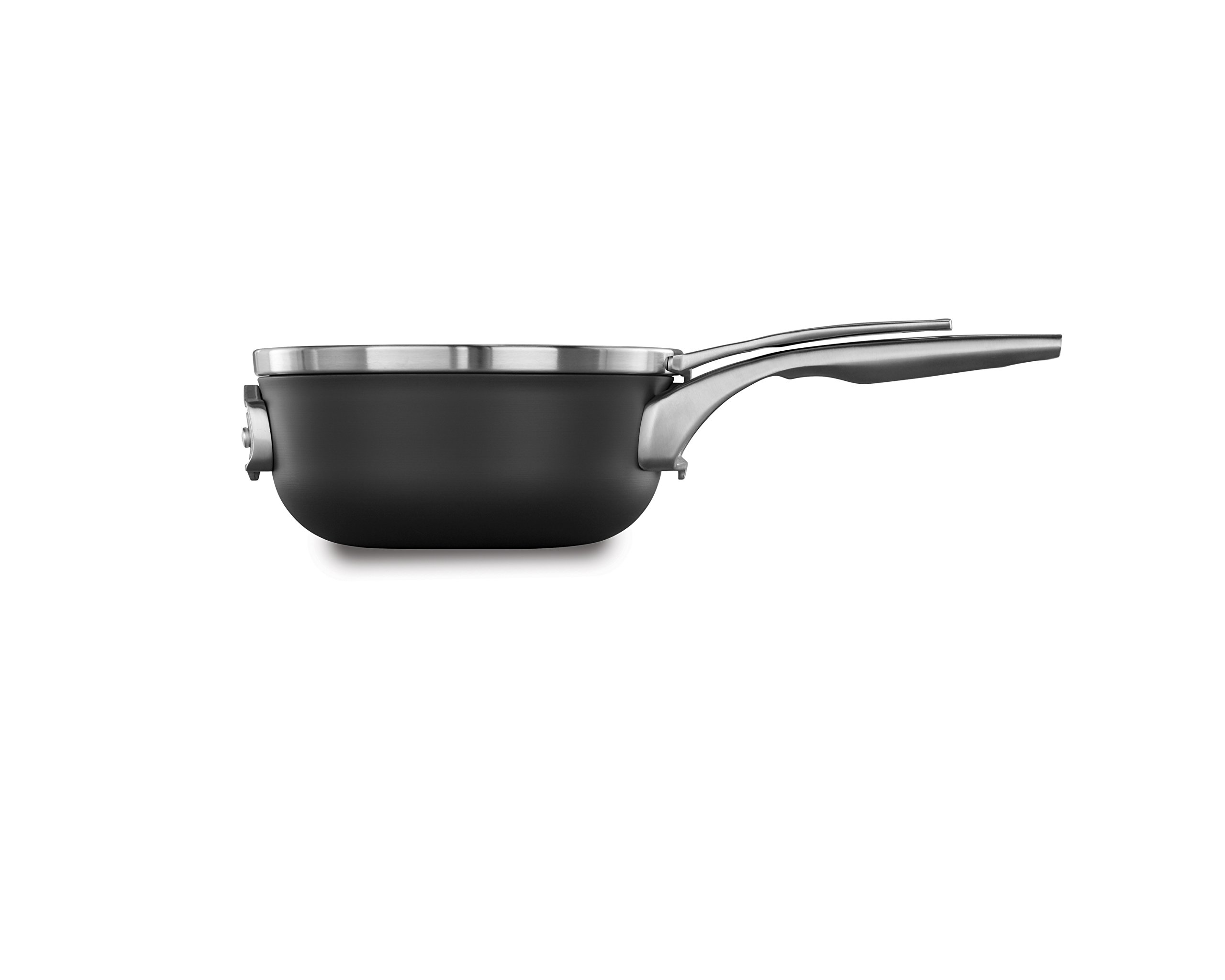 Calphalon Premier Space Saving Nonstick 2.5qt Chef's Pan with Cover