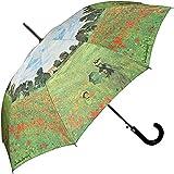 VON LILIENFELD Parapluie automatique à motif d'art Claude Monet: Champ de coquelicots