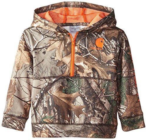 Carhartt Boys' Toddler Long Sleeve Sweatshirt, Realtree Xtra Camo, ()