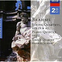 Brahms: String Quartets Op. 51 & 67 / Piano Quintet