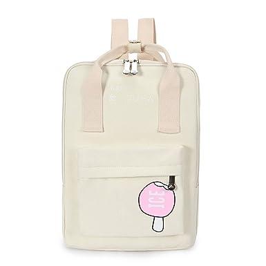 dbfc3f1b4b4b Chic Star Girls Cute Young Korean Style Square Backpack Schoolbag