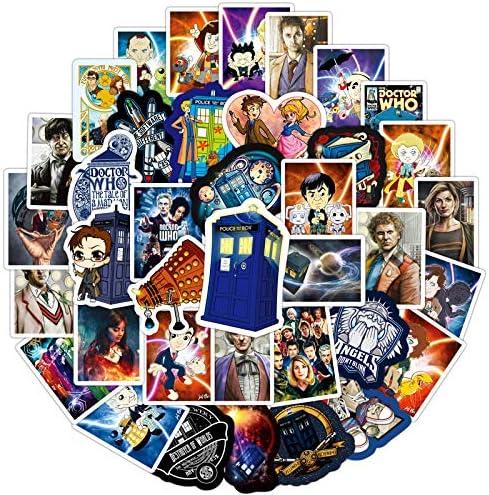 100 X Doctor Who Aufkleber Für Laptop Und Aufkleber Vinyl Aufkleber Für Wasserflasche Laptop Aufkleber Küche Haushalt
