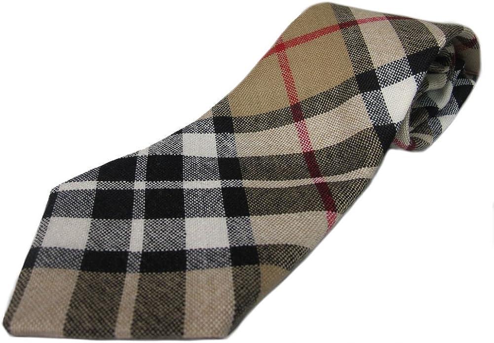 100/% Wool Authentic Traditional Scottish Tartan Neck Tie Urquhart Ancient