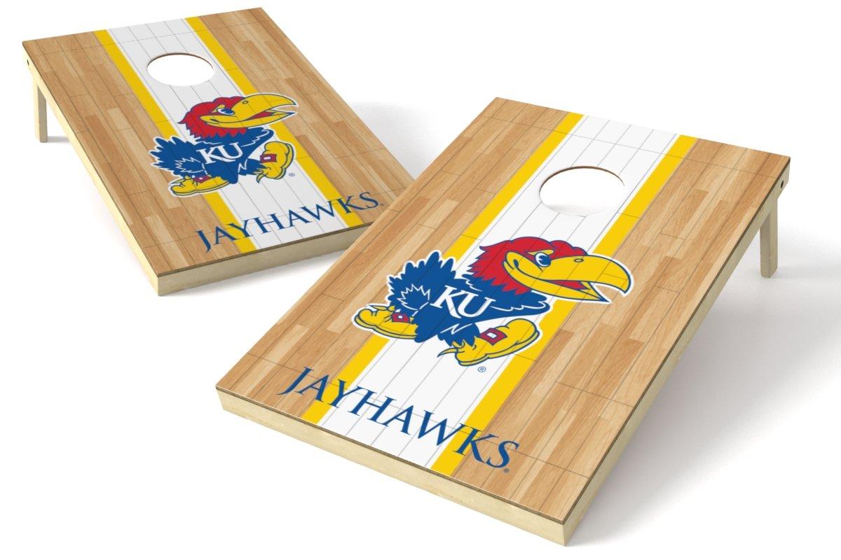 速くおよび自由な Wild Sports Jayhawks NCAAコーンホールゲームセット 2x3フィートのハードウッド B010NBH7JC B010NBH7JC Sports Kansas Jayhawks, e-087:ce7921b5 --- albertlynchs.com