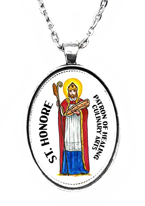 Amazon St Honore Patron Of Healing Culinary Arts Huge 30x40mm