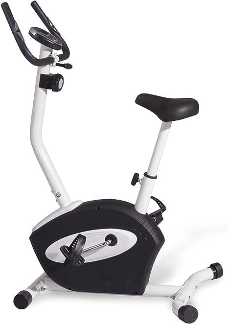 Athlyt - Bicicleta estática magnética, negra: Amazon.es: Deportes ...