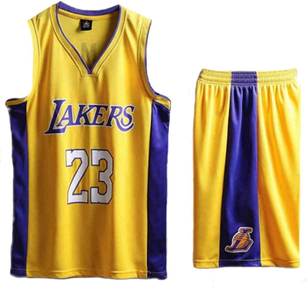 YWZQ Camiseta de Baloncesto de los Hombres, para niños de los ...