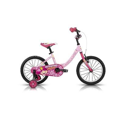 "'KELLYS ""Emma Pink"" 16en aluminium vélo pour enfant, 1Gang"