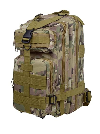 TMS 30L Military Tactical Multicam Backpack Rucksack Sport Hiking Trekking  Bag  Amazon.in  Sports 7685346710ace