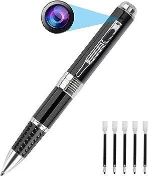PANNOVO- Mini Camera Pen HD 1080P Portable Camera