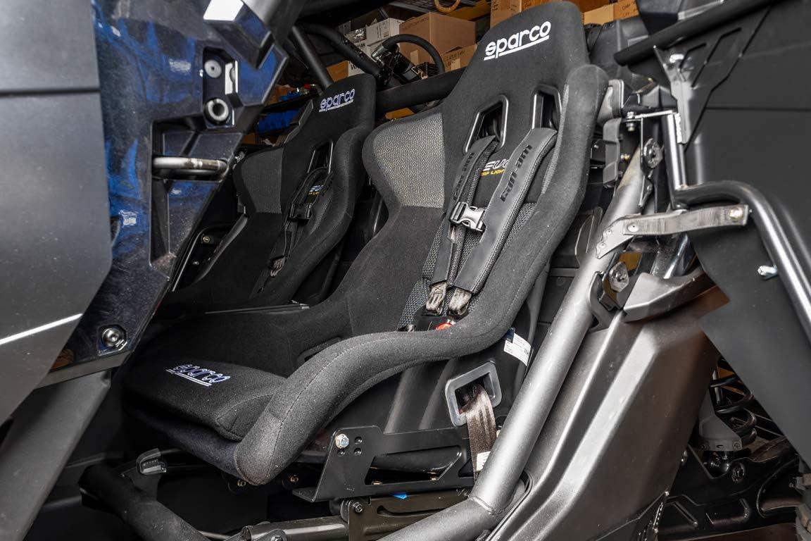UTV INC Can Am Maverick X3 Seat Base Adapter Kit Compatible with Sparco Evo II US Seats