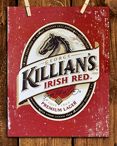 (Killians Beer- Vintage Sign Poster Print-