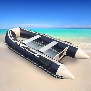 GDDQSDC PVC Pesca Botes de Goma Inflable Barco Pesca Caucho ...