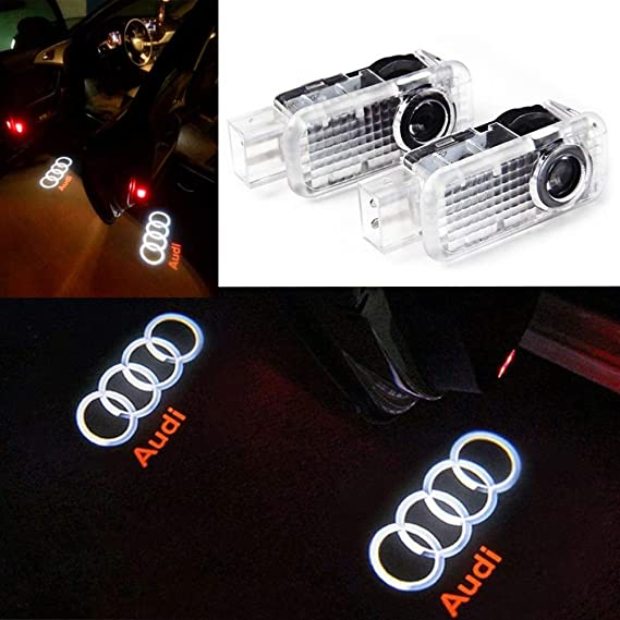 JDK Car Door Led Logo Projector Light Shadow Logo Projector Lamp Welcome Lights Easy Installation for Buick