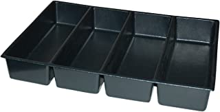 "product image for Kennedy Manufacturing 81925 4"", 7-Compartment Divider For 27"" W Kennedy Roller Cabinets & Chests, Industrial Black"