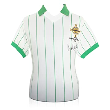 Camiseta de fútbol de la selección de Irlanda del Norte (Copa del Mundo 1982,