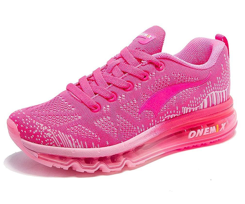 pink UB-ONEMIX Unisex Air Cushion Outdoor Sport Music Ritmo Deportivas Running shoes