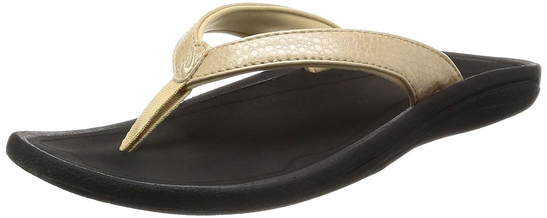 schwarz Olukai Sandale