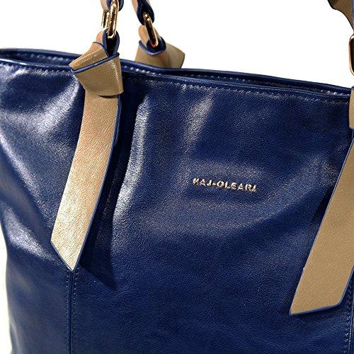 Shopping Najoleari linea FIONA collezione AI2018 di colore Blu. 61378FIO-BL