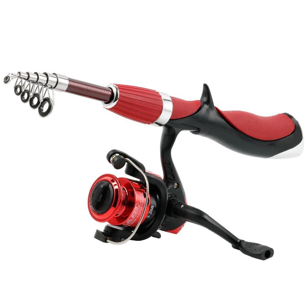 TOOGOOカーボンファイバーロッドSuperhardボートIce Fly Lure Fishing Rod with釣りリール釣りタックルセットde Fly pesca Rod pesca B07DR89VJF, タラギマチ:60864463 --- ferraridentalclinic.com.lb