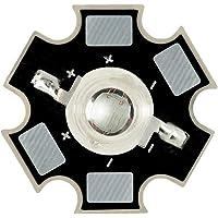 1W Componente LED de Alta Potencia, Amarillo 595nm