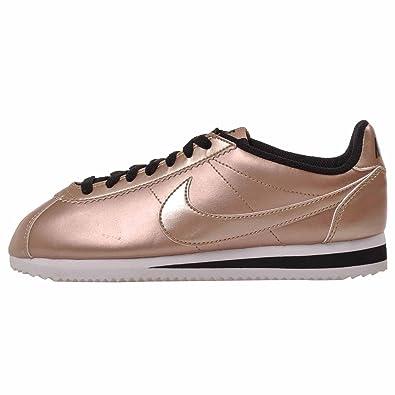 separation shoes 871b9 c61f3 Amazon.com: Nike Womens Classic Cortez Leather #807471-990 ...