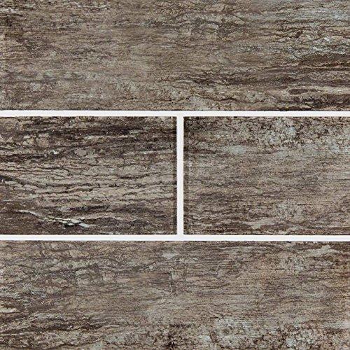 Antica Tile Stone - MSI Stone SMOT-GL-T-ANTPEW412 Antico Pewter Subway Tile with Misc Finish, 4