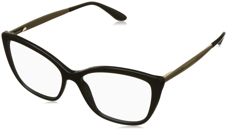 4e64b1dafe Amazon.com: Dolce&Gabbana DG3280 Eyeglass Frames 501-52 - Black  DG3280-501-52: Clothing