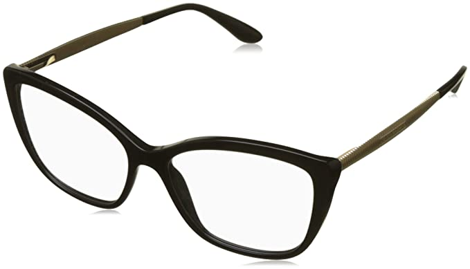 cfe9c798ca Amazon.com: DOLCE & GABBANA Eyeglasses DG3280 501 Black: Clothing