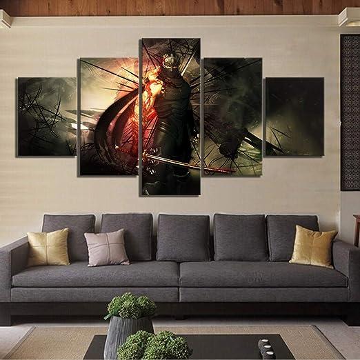 CANPIC 5 Piezas de Videojuegos Ninja Gaiden Poster Wall ...