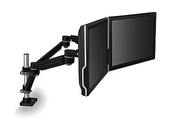 Amazoncom 3M Easy Adjust Desk Mount Dual Monitor Arm Adjust