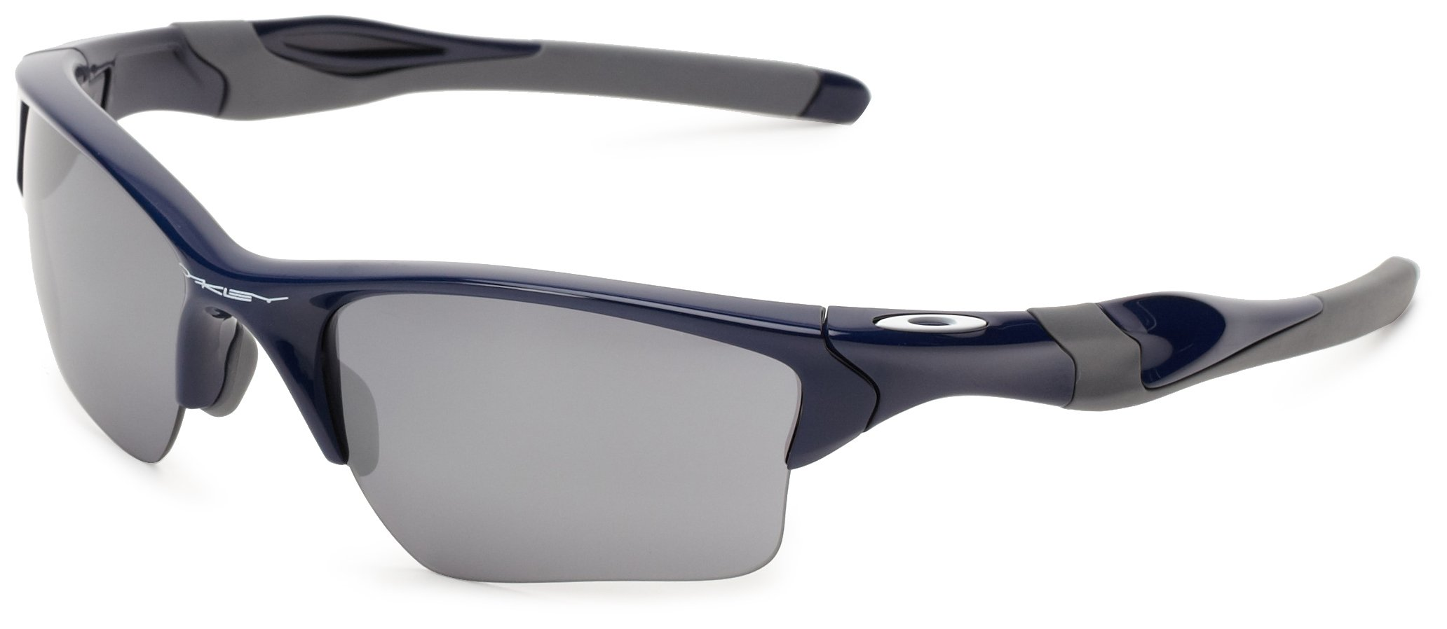 Oakley Half Jacket 2.0 XL OO9154-24 Iridium Sport Sunglasses,Polished Navy/Black Iridium,55 mm by Oakley