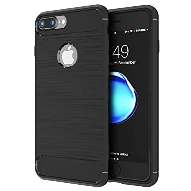 first rate eb0b0 19365 OWM iPhone 7 Case, iPhone 8 Case, Thin Shockproof Brushed [Slim-Fit] Rugged  Grip Silicone Protective Designer Matte Phone Case for Apple iPhone 7/8 ...