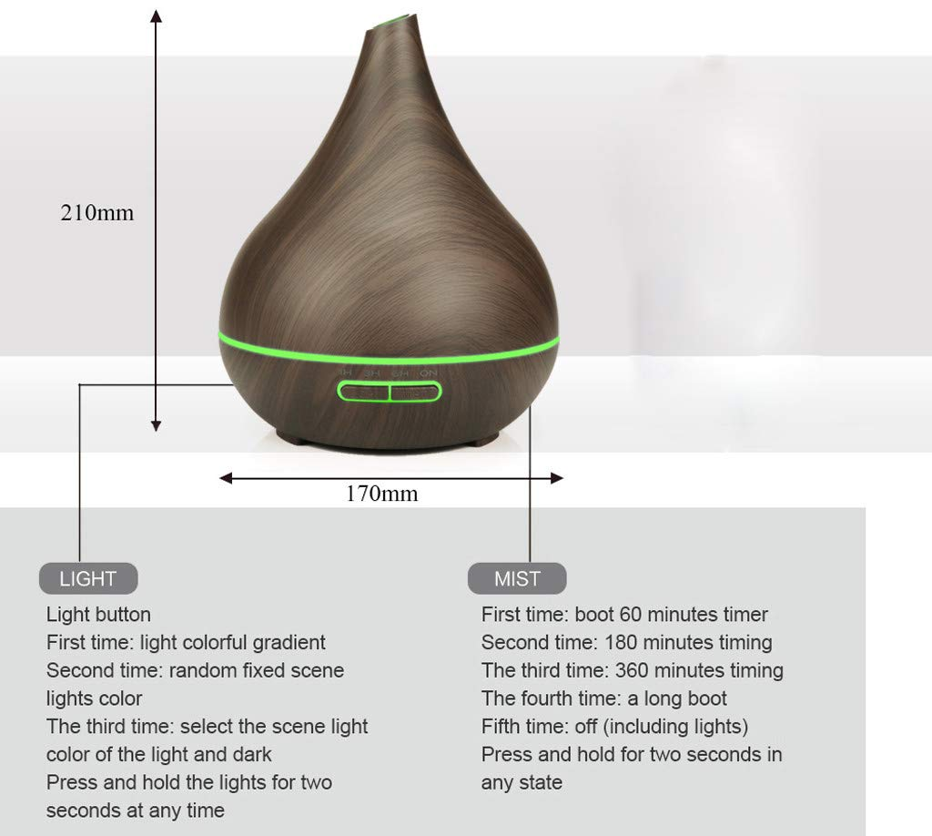 Webla Ultrasonic Home - Humidificador de aire niebla ...