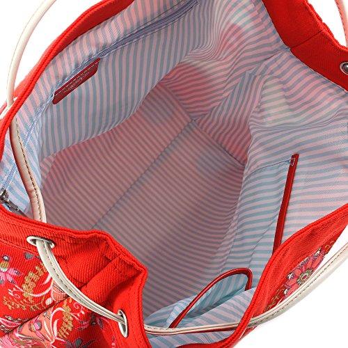Kaleidoscope - Drawstring Shopper - Red