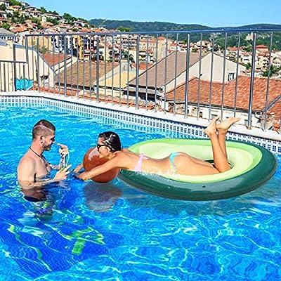 Tiowo Gigante Flotador de Aguacate Inflable Anillo de natación ...