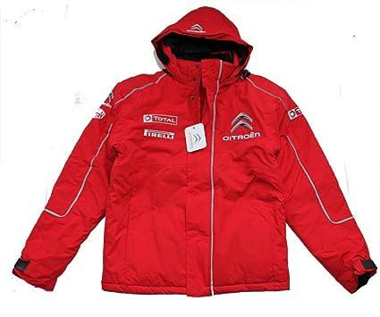 Chaqueta: WRC Citroen Racing World Rally Team nuevo HV Rojo rosso Talla:XS