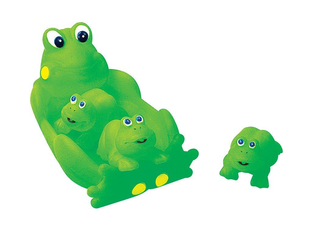 Amazon.com: Rubber Frog Family Bath Toy Set - 8\