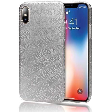 NALIA Funda Carcasa Compatible con iPhone X XS, Mosaico ...