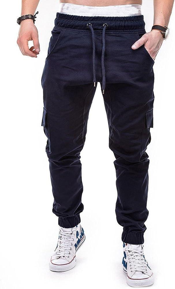 17 COOKI Mens Joggers Sweatpants Men Active Sports Running Workout Pants Elastic Fitness Joggers Sweatpants Pockets