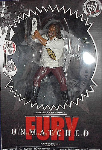 WWE Unmatched Fury Mankind Action Figure by Jakks