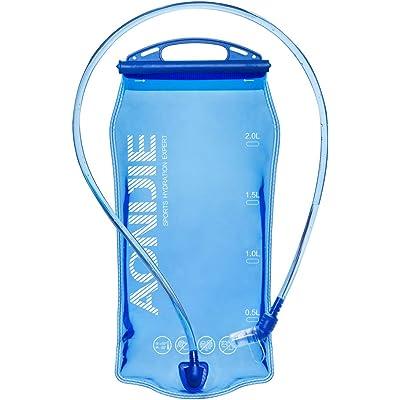Win.Deeper 1.5/2/3L Bolsa De Agua para Mochila Hidratación depósito de Agua de vejiga de hidratación para Ciclismo Senderismo Excursionismo Camping