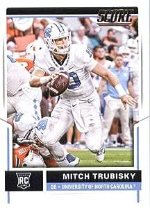 2017 Score #349 Mitchell Trubisky North Carolina Tar Heels ... North Carolina Football Score