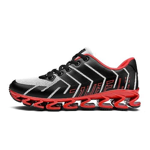 Running Shoes Zapatillas de Deporte de Primavera y Verano para Hombres Zapatillas de Deporte Rojas Ocasionales Sneakers for Men: Amazon.es: Zapatos y ...