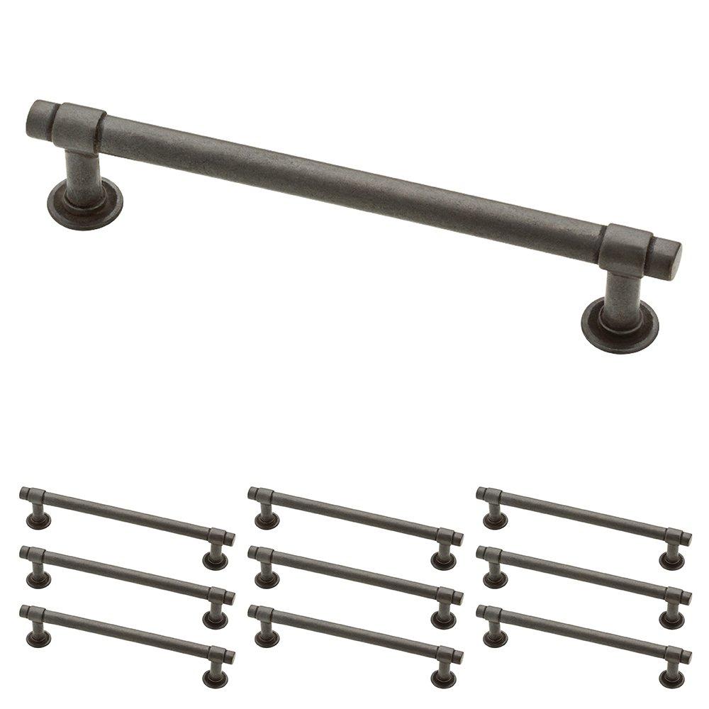 Franklin Brass P29618K-SI-B Straight Bar Pull 5-1/16'' (128mm) Aged Iron 10 Piece