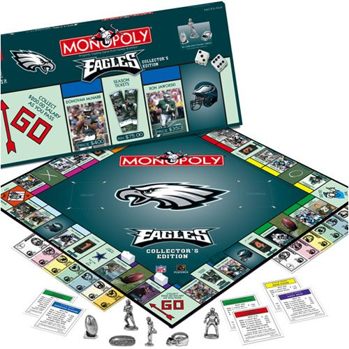 Philadelphia Eagles NFL Team Collectors Edition (Nfl Monopoly)