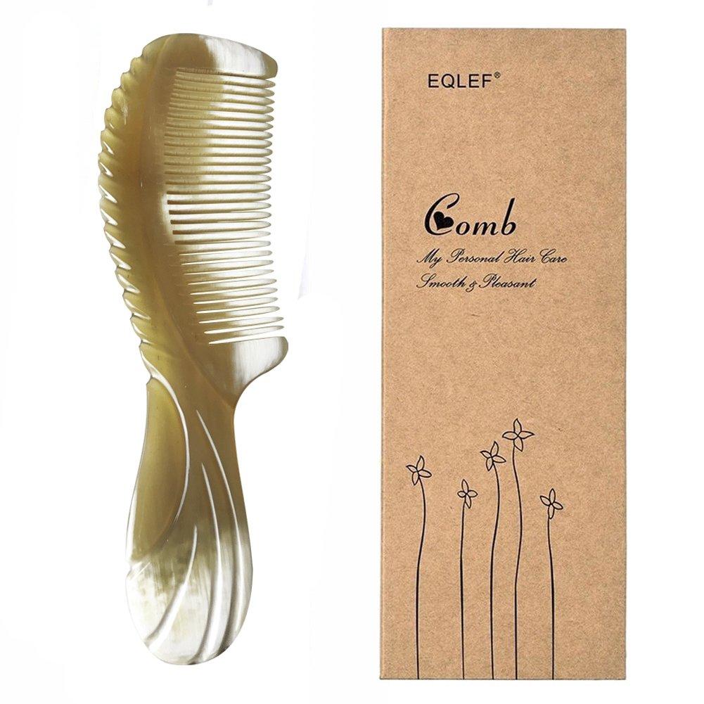 Folding Comb Elegant Pocket Folding Yak Horn Comb Wallet-fit Comb EQLEF®