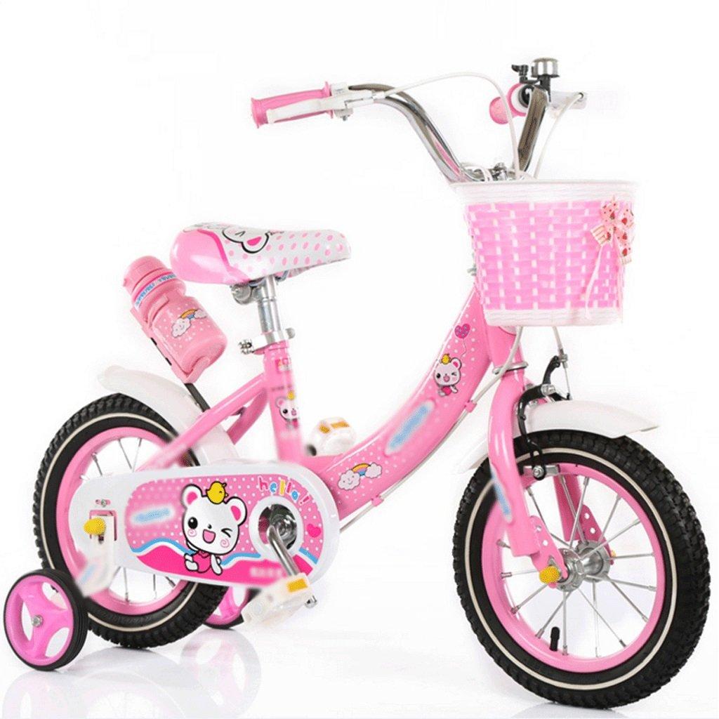 自転車 新しい子供のプリンセス自転車トレーニングホイール12インチ14インチ16インチ38歳エレガントピンク (サイズ さいず : 12 inch) B07DZTXFYK 12 inch 12 inch